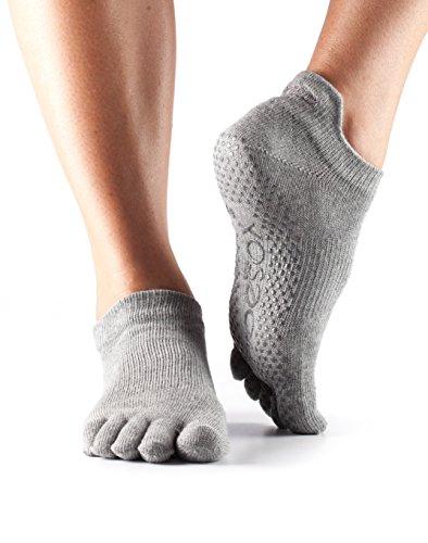 Calcetines toeSox de punta baja y bajo agarre para yoga, pilates,...