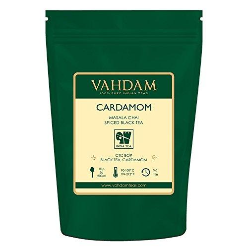 VAHDAM, Cardamom Chai Tea Loose Leaf (100 Cups) | 100% NATURAL CARDAMOM | India