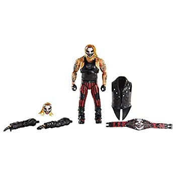 WWE Ultimate Edition Wave 7 The Fiend Bray Wyatt Action Figure 6 in with Interchangeable Entrance JacketLanternExtra Head and Swappable Hands for Ages 8 Years Old and Up