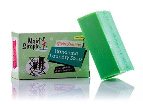 Maid Simple Hand & Wasserij Zeep Bar, Groen, 170G