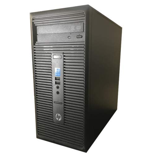 Hp 280 G1 - Ordenador de sobremesa (Intel Pentium G3250, 8GB de RAM, Disco HDD 500 GB, Lector DVD, Windows 10 Pro ES 64) - Negro (Reacondicionado)