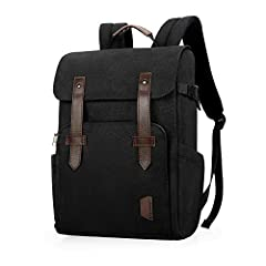 """Dimensions: 12.59""""L x 17.3""""H x 6.3""""W; Fully convertible from an everyday backpack into a DSLR camera travel bag by taking out the center compartment. This professional backpack has two main compartments in the back so it's steal proof when walking, t..."""