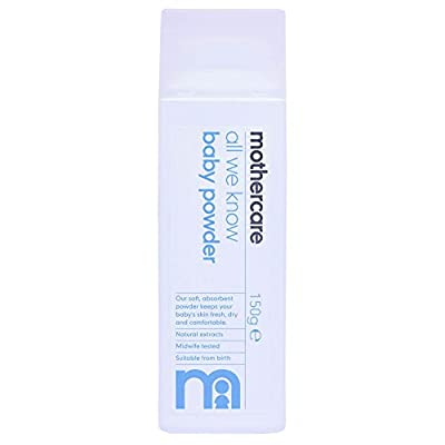 Mothercare All We Know Baby Powder 150g E - Pack of 1, 150gms