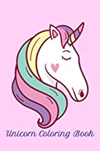 Unicorn Coloring Book: Cute Unicorn Coloring Book For Children Ages 2 - 10