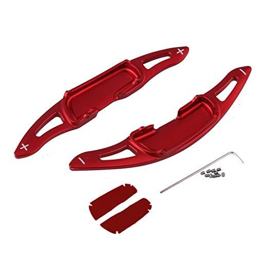 Buwei Auto Modified Zubehör Ersatzteile Auto Lenkrad Aluminiumlegierung Red Paddle Shift Verlängerungsabdeckung für Mazda CX-4 MX-5