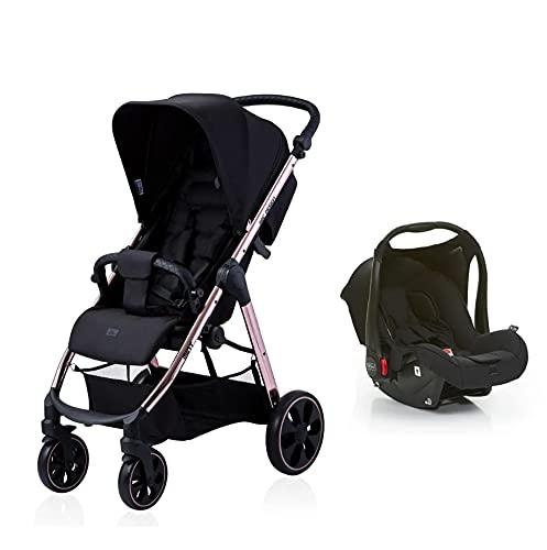 Mint (Bebê conforto Risus + Adaptador), Abc Design, Rose Gold