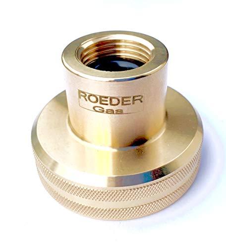 ROEDER-Gas DISH Camping LPG Tank Adapter zum Befüllen von 11kg Gasflaschen