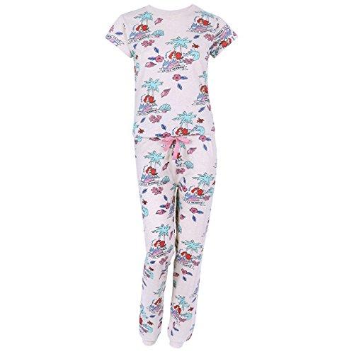 Disney Arielle, die Meerjungfrau Damen 2tlg. Schlafanzug-Set Nachtwäsche Pyjama - 36-38 / UK 10-12 / EU 38-40