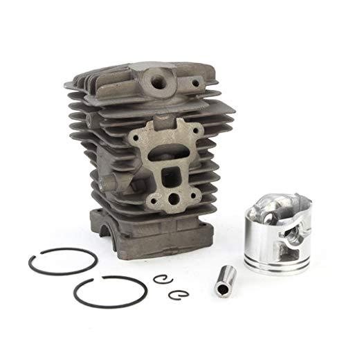 DAIMANPU Conjunto de pistón de Cilindro de 44 mm Apto para Piezas de Repuesto de Motor de Motosierra Stihl MS211 MS211C MS 211