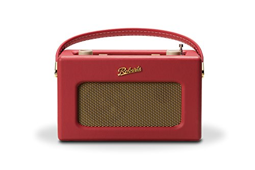 Roberts Radio Roberts Revival RD70 DAB+ Retro Digitalradio mit Bluetooth red, Rot, Deux_Places