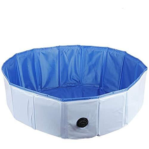 Piscina para Perros Piscina para Perros PVC Portátil Plegable Perros Gatos Bañera Bañera Bañera Piscina para Mascotas Estanque de Agua Mascotas Bañera para Perros