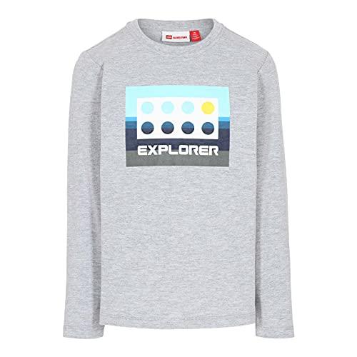 LEGO Wear Classic Longsleeve Shirt Camiseta, 341, 98 cm para Niños