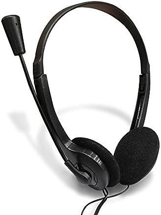 Ruimin 3.5mm archetto regolabile ufficio Headset multiuso 3.5mm Skype Headset per Call center, Webinar conferenza on-line, Voice chat, musica - Trova i prezzi più bassi