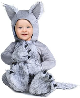 Infant Wolf Costume 9 12 Months Gray product image
