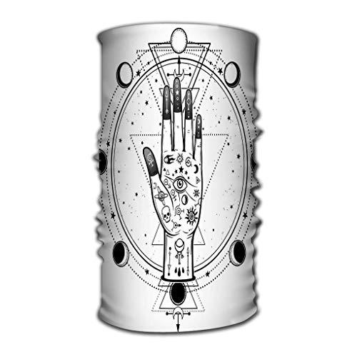 Quintion Robeson Sombreros Ocean Wave Dibujo Misterioso Mano Divina Providencia Ojo Geometría Sagrada Fases Luna Misticismo esotérico Ocultismo