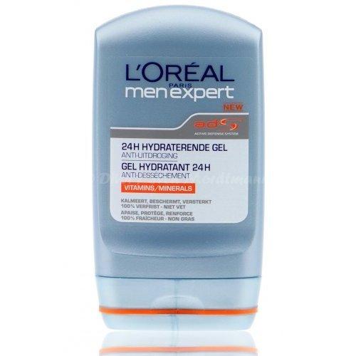 L'Oréal - Gel Hydratant 24h Men Expert - Anti dessèchement - 100 ml