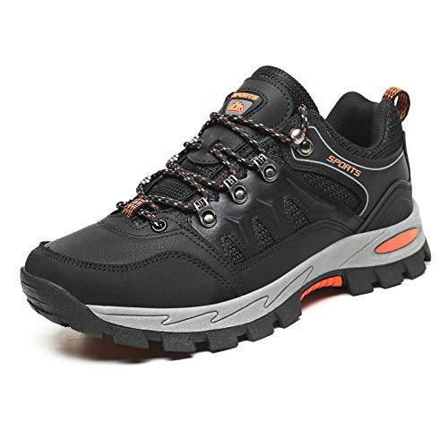 Zapatillas Trekking Hombre Mujer Antideslizantes Zapatos de Senderismo Transpirable Botas Montaña Bajas