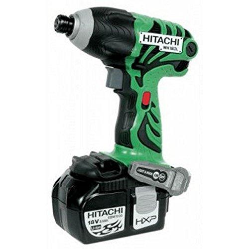 Hitachi tools - Atornillador impacto bateria litio 18v 5ah