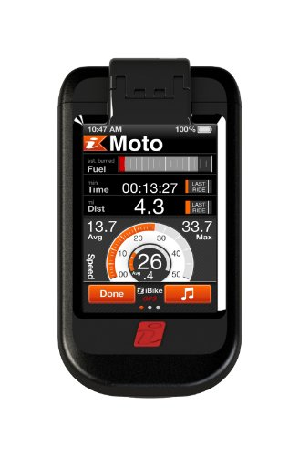 iBike Moto (7001) Case, Mount, and App, a complete system for your motorcycle