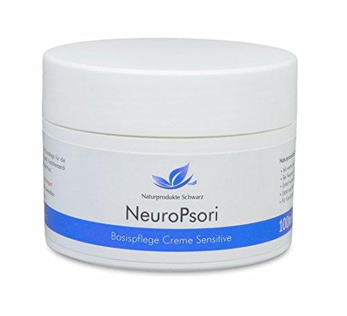 Naturprodukte Schwarz - NeuroPsori Basispflege Sensitive, Creme bei Neurodermitis, 100ml