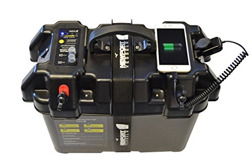 Newport Vessels Trolling Motor Smart Battery Box Power Center with