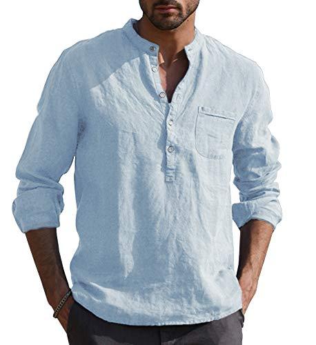 Camisa Cuello Mao marca URRU