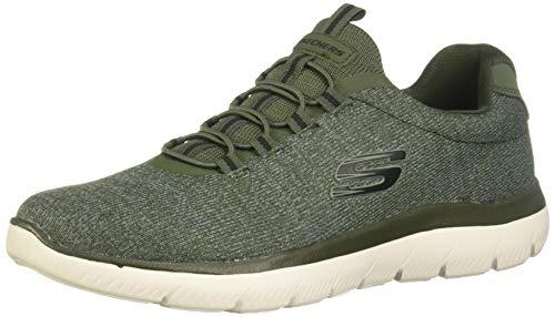 Skechers Summits FORTON Men´s Trainers Sneaker Fitness Memory Foam Green, Numero di Scarpe:EUR 46