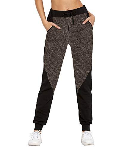 SUNNYME spodnie do joggingu dla pań spodnie dresowe damskie na co dzień spodnie do joggingu spodnie ze sznurkiem w talii spodnie dresowe z kieszeniami