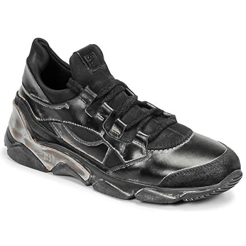 MOMA Tony Nero Sneaker Herren Schwarz - 42 - Sneaker Low Shoes