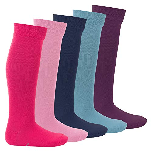 Footstar Kinder Kniestrümpfe (5 Paar) - Everyday! - Sweet Colours 31-34
