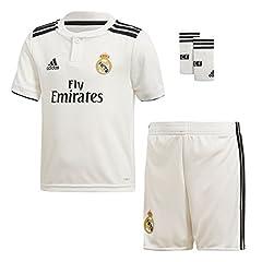 Adidas Camiseta  1ª  Real Madrid kit 2018/2019 Bebé -Niños