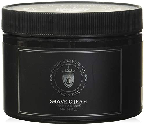 Shave Cream 8floz shave cream by Crown Shaving Co.