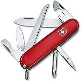 Victorinox Hiker - Cuchillo, Rojo, Acero inoxidable, 7 funciones