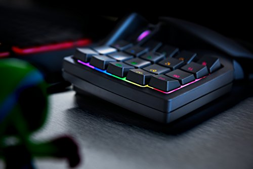 Razer Tartarus V2: 32 Programmierbare Tasten - Abnehmbare Handballenauflage - Mittelhohe Razer Mecha-Folientasten - Gaming-Tastatur