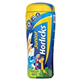 Junior Horlicks, Health & Nutrition Drink for Toddlers & Young Kids, For Brain Development, Weight Gain and Immunity, Vanilla Flavour, Jar, 500 g