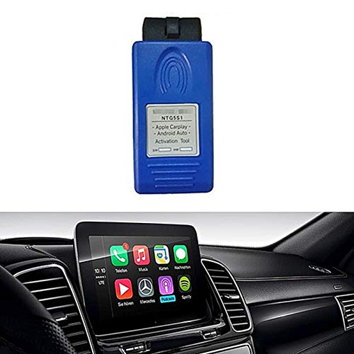 LICHIFIT Herramienta de activación para Apple Carplay para Mercedes Benz Car NTG5 S1 OBD 2
