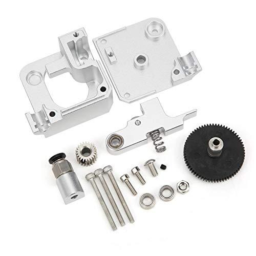 VINGVO 3D Printer Parts, Aluminum Alloy Low Density High Strength Extruder Kit, DIY Requirements for 3D Printers