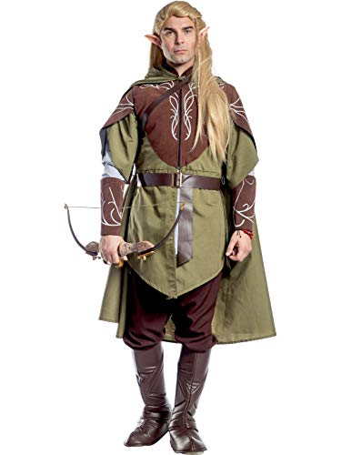 Charades Men's Lord of the Rings Legolas, As Shown, Small