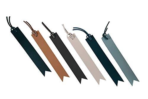 LUXE-RANGE Leather Bookmark Handmade Personalized Premium Leather Book Mark Custom Gift Handmade in USA