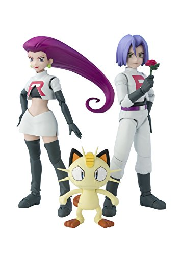 Bandai S. H. Figuarts Pokemon Team Rocket ABS PVC Figure 140mm