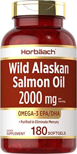 Wild Alaskan Salmon Fish Oil 2000 m…