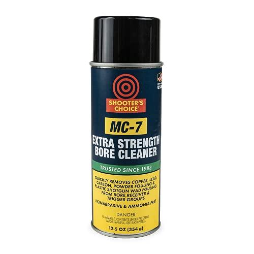 Shooter's Choice Otis Technology Mc#7 Extra Strength Bore Cleaner Aerosol Can, 12 oz, Multi (MC7XT)