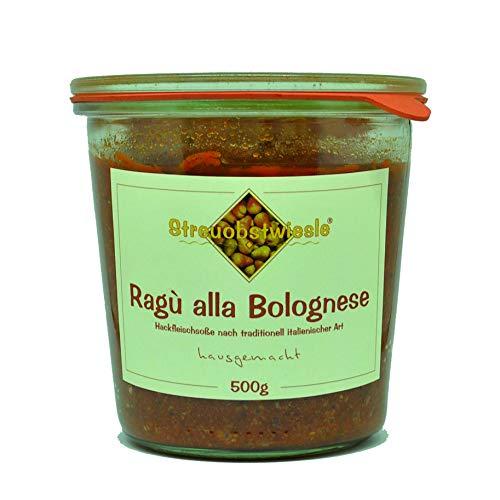 Streuobstwiesle Ragù alla Bolognese - 500g Hausgemachte Hackfleischsoße nach traditionell italienischer Art mit besten Zutaten aus der Region