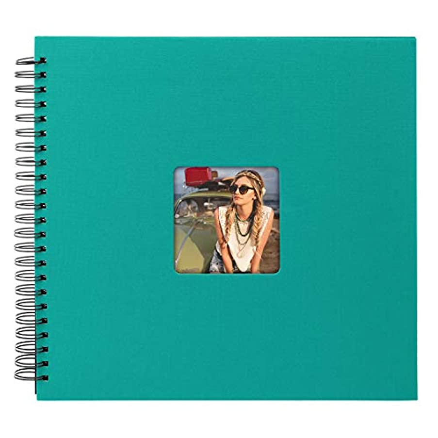 Goldbuch Living Emerald Spiral Album Turquoise