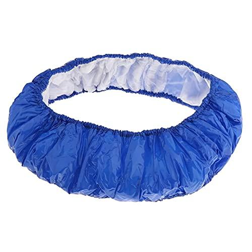 Funda de Trampolín Plegable,Almohadilla de Seguridad de Repuesto para Trampolín Acolchado de Salto de Resorte de Trampolín Resistente a los Rayos UV para Niños Accesorios de Trampolines,50 inches