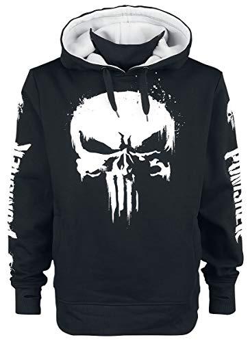 Unbekannt The Punisher Skull Männer Kapuzenpullover schwarz M