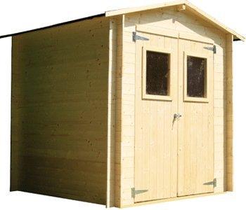 Casetta da giardino in legno 250x250 cm (in kit di montaggio)