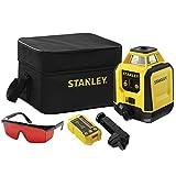 Stanley STHT77616-0 Nivel láser Rotativo con estuche, gafas, objetivo, detector y soporte
