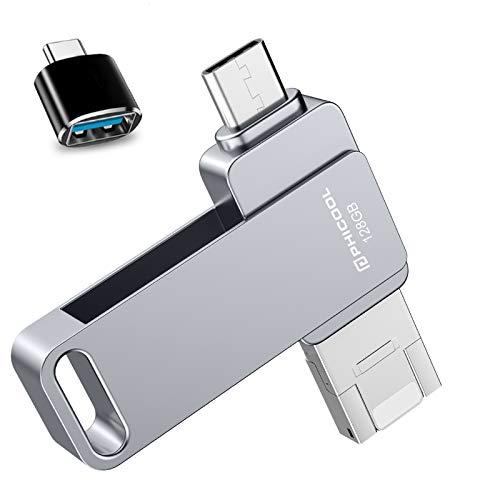 Memorias USB 128GB Smartphone USB 3.0 Unidad Memoria Flash,PHICOOL USB Flash Pen...