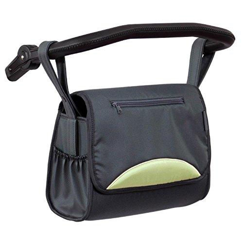 Zekiwa 803/862-15 komfortable Wickeltasche zum Kinderwagen Dessin: Mint